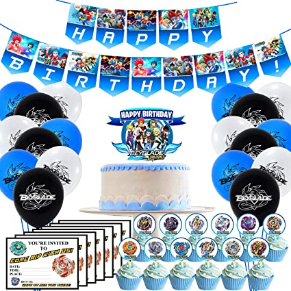 NEW Beyblade Personaliz​ed Birthday Party Favor Gift T-Shirt