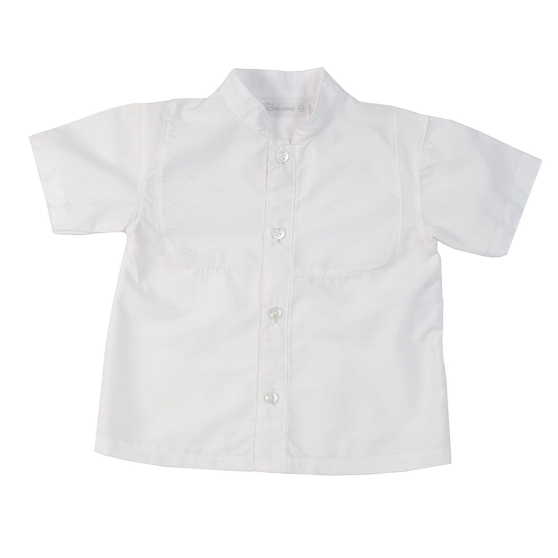 Bee nene Baby Short Sleeve Shirt White, 3M