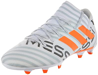17b26baa3 Adidas Men's Nemeziz Messi 17.3 Fg Ftwwht/Sorang/Clegre Football Boots - 10  UK
