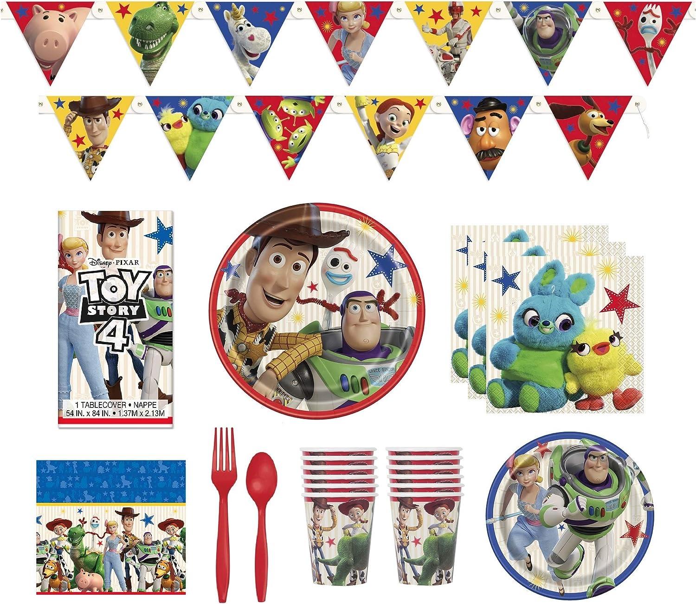 Amazon.com: Toy Story 4 suministros para fiestas ...