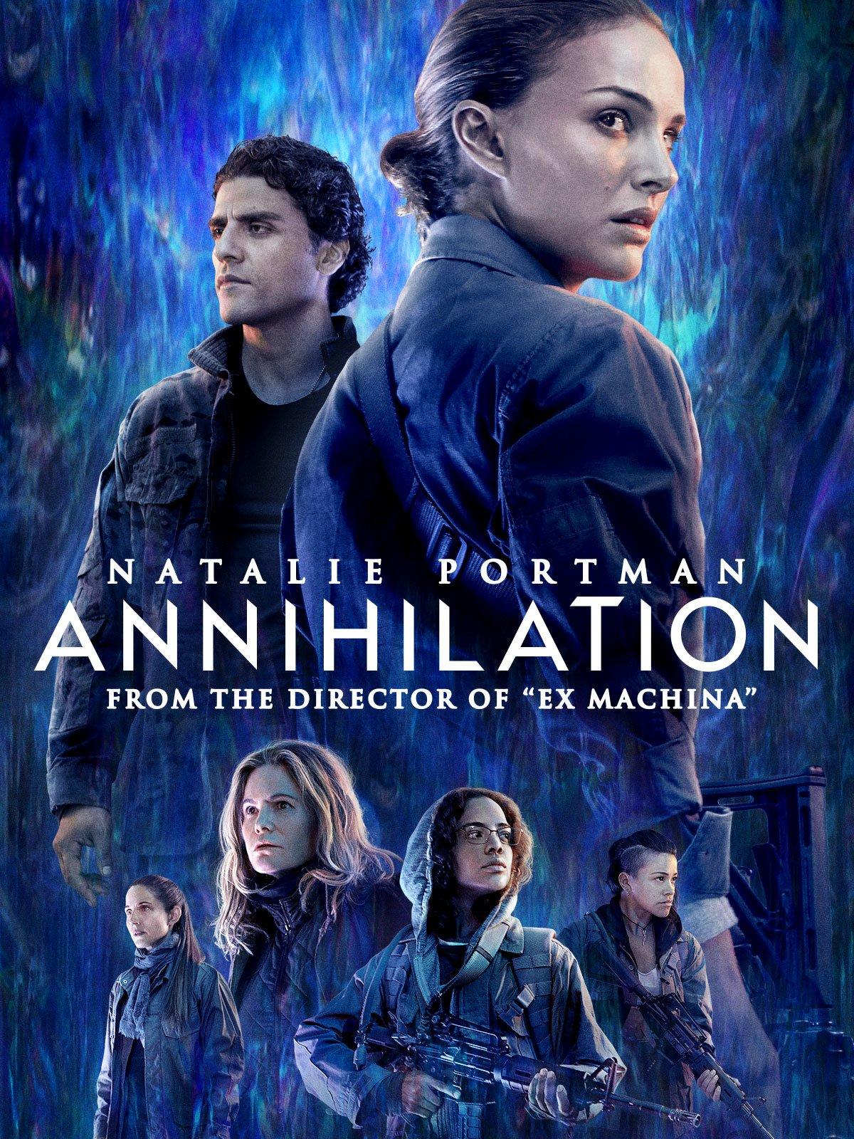 Amazon.com: Annihilation: Natalie Portman, Jennifer Jason Leigh ...