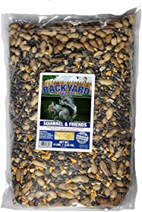 Backyard Seeds Squirrel & Friends Wildlife Chipmunk Food Mix 8 Pounds
