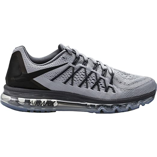 sale retailer 1f76c 9980a ... running shoes black liquid lime dark grey dce78 901f0  canada nike mens  air max 2015 wolf grey black 6 us men d2745 d88b6