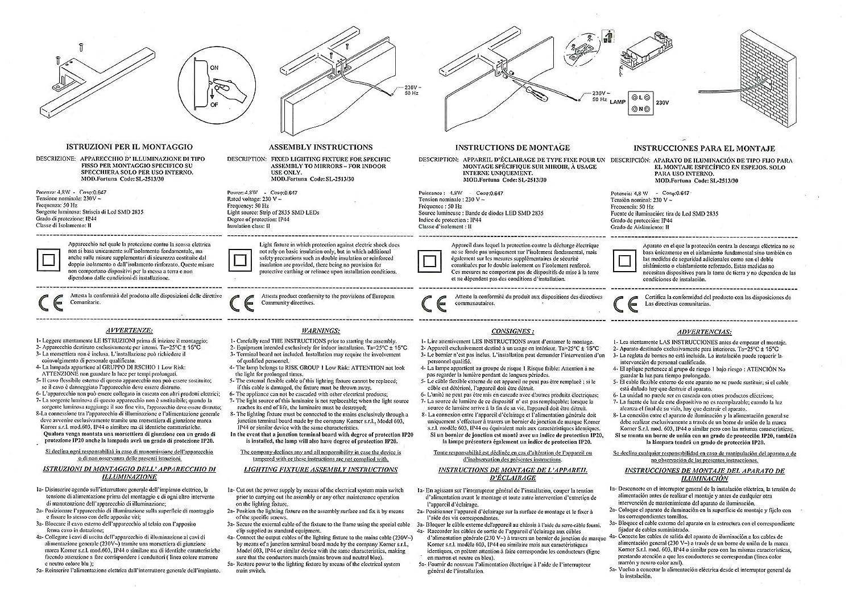 Driver Integrato IP44-30 x 10 x 4.52 cm // 4.8 w // 300 lm // Luce Naturale Solupa Lampada Applique LED da Specchio per Bagno Fortuna ABS