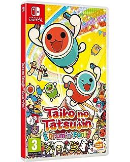 Taiko no Tatsujin Nintendo Switch NINTENDO SWITCH JAPANESE IMPORT REGION FREE [video game]: Amazon.es: Videojuegos