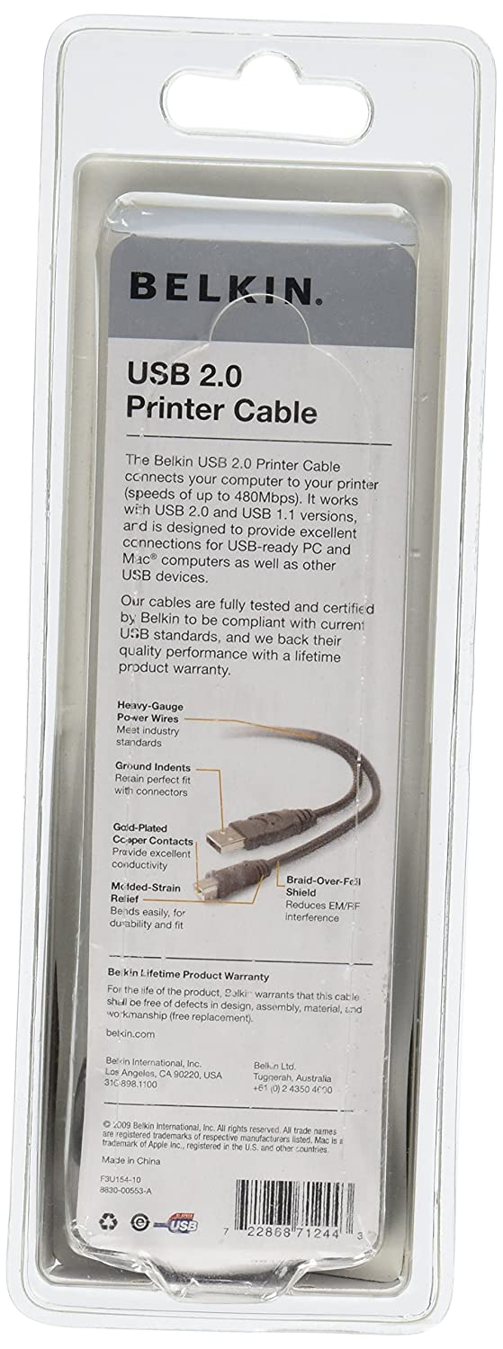 USB A//b Device Cable A//B;10