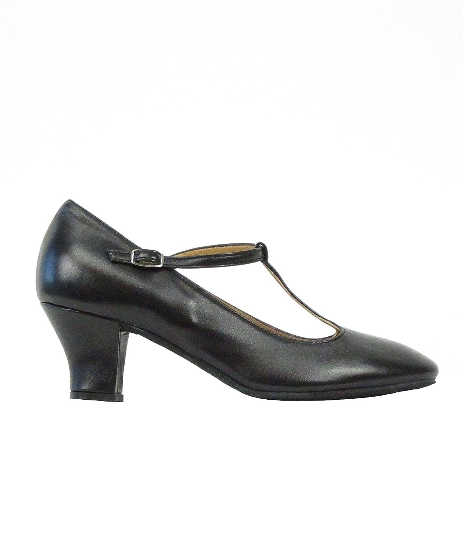 9201Rumpf Damen Tanzschuhe Latein Salsa Rumba Tango Ballroom Schuhe Material Leder, Chromledersohle Absatz 5 cm, Made in  B01M35WNUM Gymnastikschuhe Lassen Sie unsere Produkte in die Welt gehen