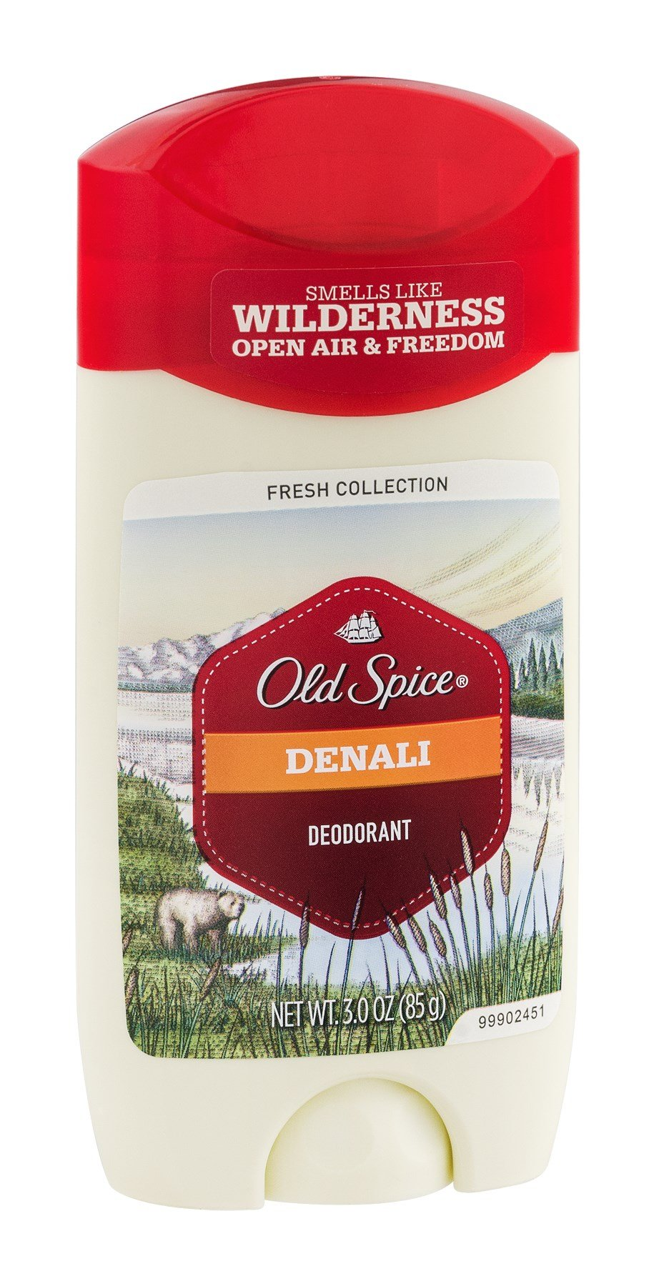 Old Spice Fresh Denali Deodorant 3 Oz, Pack of 18