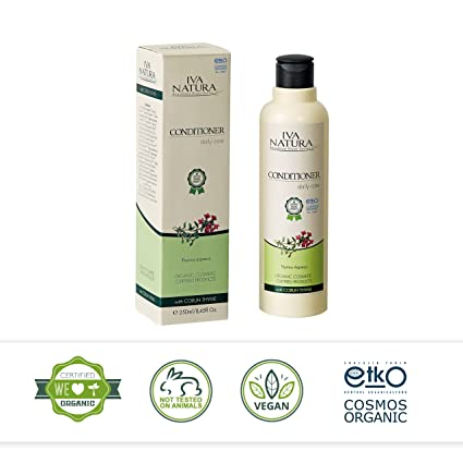 Orgánico certificado Natural Pelo acondicionado por iva Natura® (UK Exclusivo)