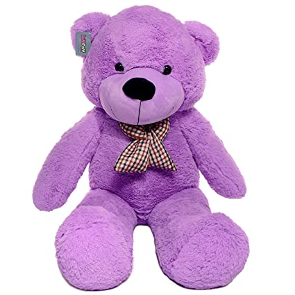 "Joyfay Big Purple Teddy Bear-Giant 47"" Stuffed Animal Makes a Perfect Gift."