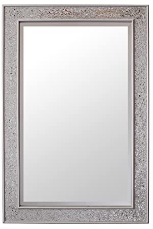 Espejos plateados espejo pared plateado factory espejos for Espejo grande pared