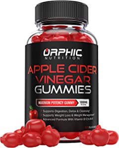 Apple Cider Vinegar Gummies -1000mg - Formulated for Weight Loss, Energy Boost & Gut Health - Supports Digestion, Detox & Cleansing - Natural ACV Gummies W/VIT B12, Beetroot & Pomegranate