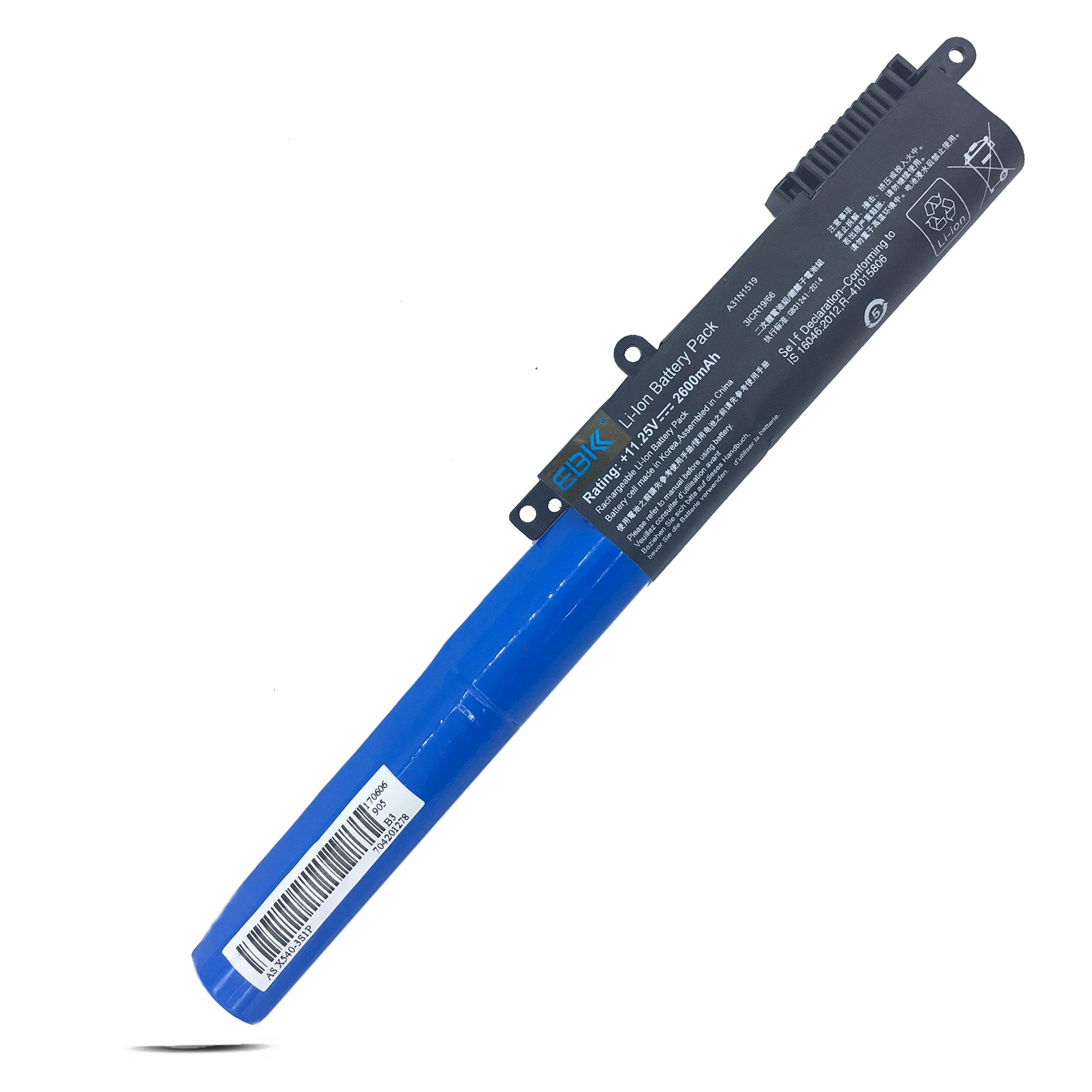 Bateria A31n1519 Para Asus X540 Series Asus X540la X540lj X540sa X540la-si302 Series Asus X540sc X540ya Series Asus X540