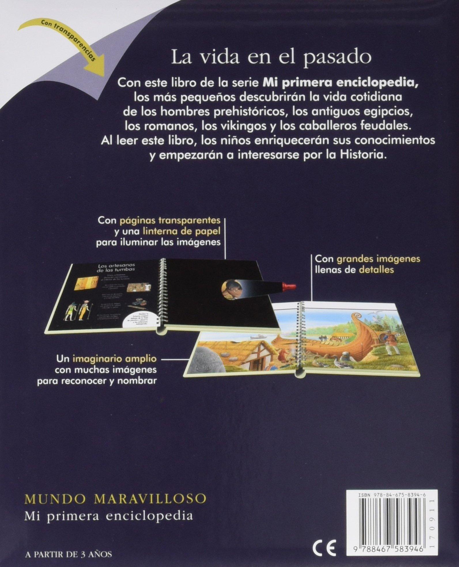 La vida en el pasado (Mundo maravilloso): Amazon.es: Daniel Moignot, César  Martínez González: Libros