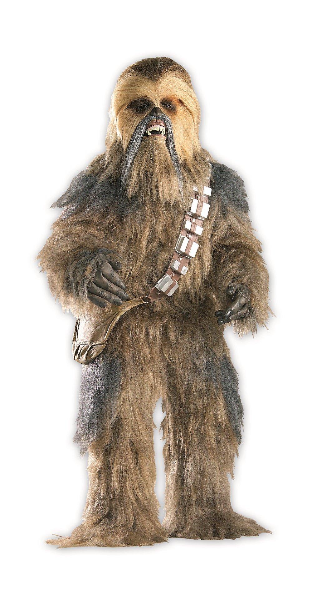 Rubie's Star Wars Collector Supreme Edition, Star Wars Episode III, Chewbacca Costume, Adult Standard