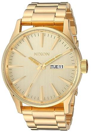 890432d99b4 Amazon.com  Nixon Sentry SS A356502-00. All Gold Men s Watch (42mm ...