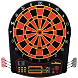 Arachnid Cricket Pro 450 Electronic Dartboard Features 31 Games with 178 Variations and Includes Two Sets of Soft Tip…