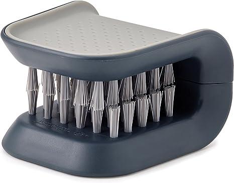 JOSEPH JOSEPH Spülbürste mit integriertem Seifenspender PALM SCRUB grau