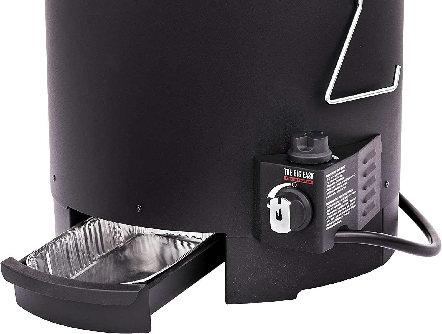 Oil-less Liquid Propane Turkey Fryer