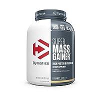 Dymatize Super Mass Gainer Protein Powder, 1280 Calories & 52g Protein, Gain Strength...