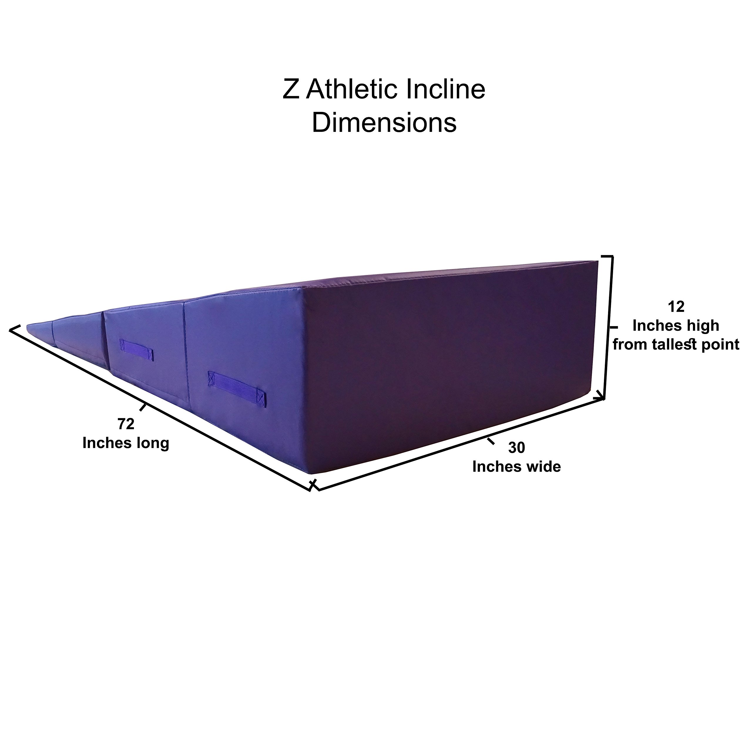 Z-Athletic Gymnastics Incline Mat for Gym and Home Use by Z-Athletic (Image #3)