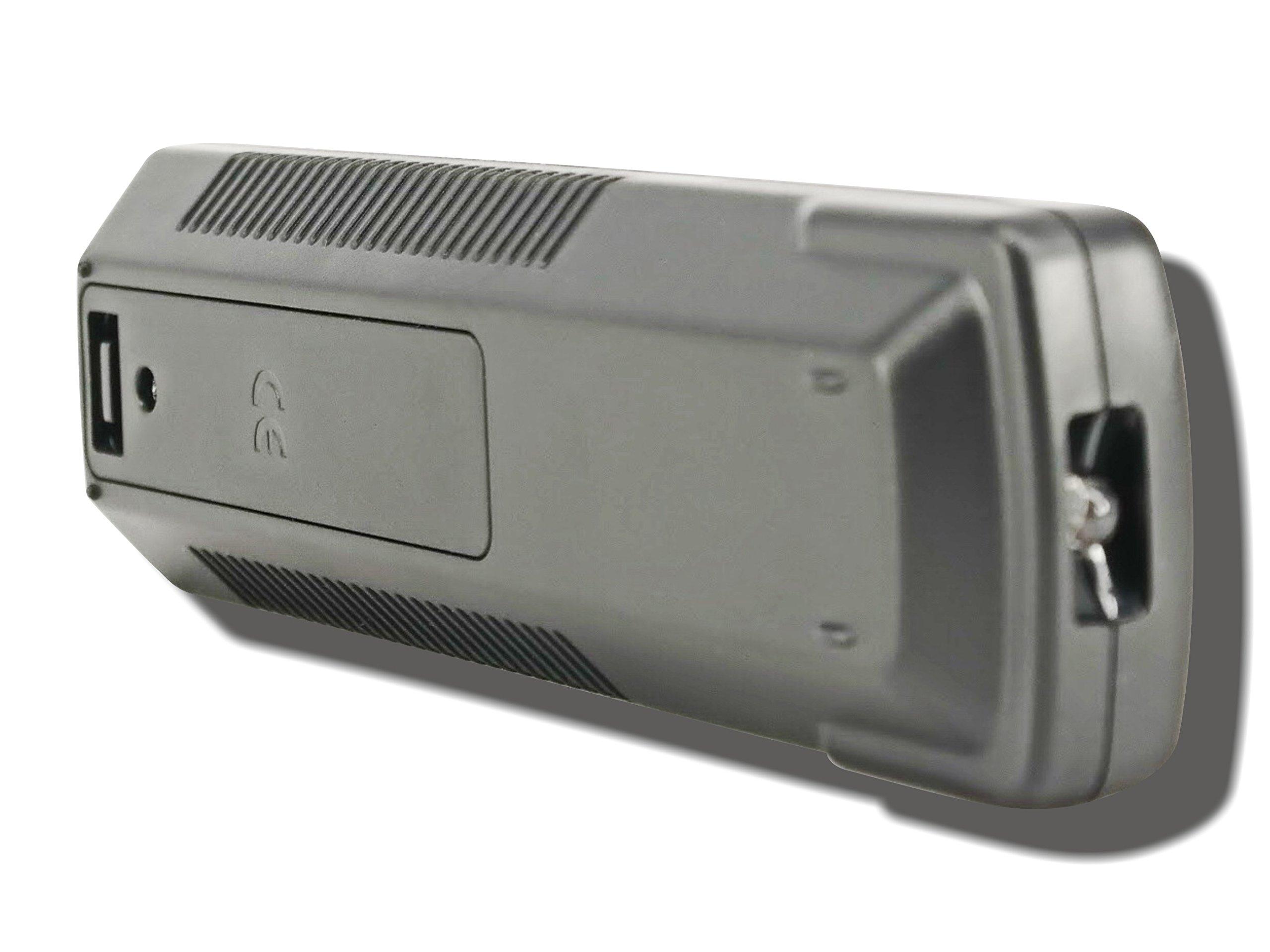 Sony DVP-CX995V TeKswamp Remote Control (Black) by Tekswamp (Image #7)