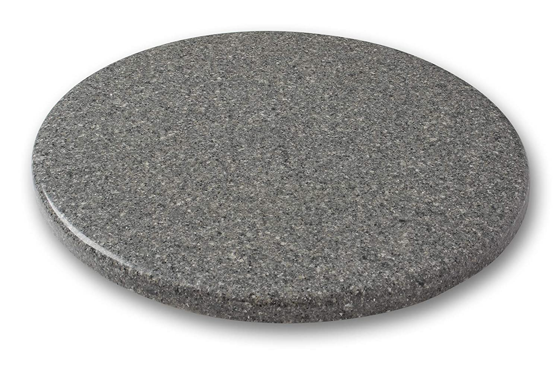 arstar, Lazy Susan giradiscos, 16 cm, granito, nieve dritf: Amazon ...