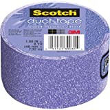 Scotch Duct Tape, Violet Purple Glitter, 1.88-Inch x 8-Yard