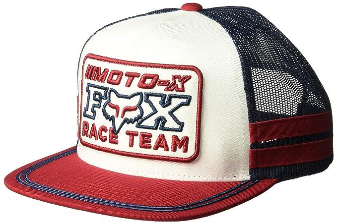 Fox Gorra Snapback Intercept by beisbolgorra Baseball (Talla única - Rojo)