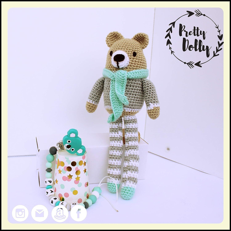 Cesta para bebé | Canastilla para recién nacido con Oso ...