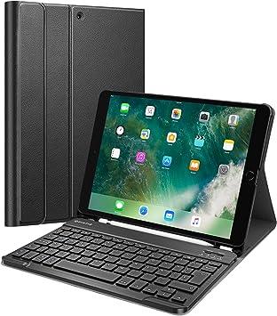 Fintie Funda con Teclado Español Ñ para iPad Air (3.ª Gen) 2019/iPad Pro 10.5