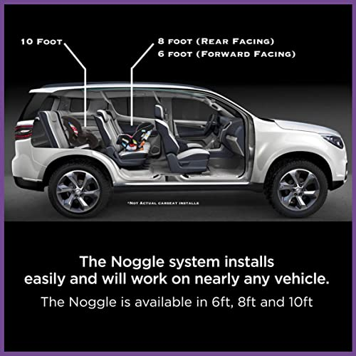 6ft - Black Ice Noggle Extend Your Air Conditioning or Heat to Your Kids