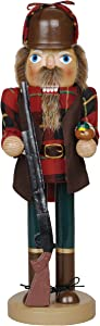 "Santa's Workshop Holiday Home Decor 14"" Duck Hunter Nutcracker"