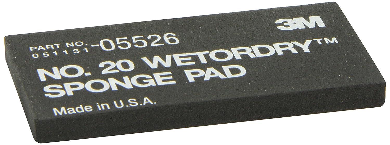 3M 05526 Wetordry 2-3/4' x 5-1/2' x 3/8' Sponge Pad 20