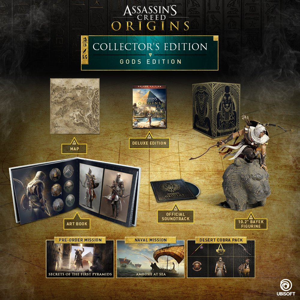 Assassin's Creed Origins GODS Collector's Edition –...