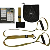 Home Gym Bodyweight Resistance Straps Workouts for Home — HOME-X Fitness Bands Kit with Door Anchor: Exercise Equipment to Lose Weight, Burn Fat, Get Lean, Full Body Workout for Home & Travel