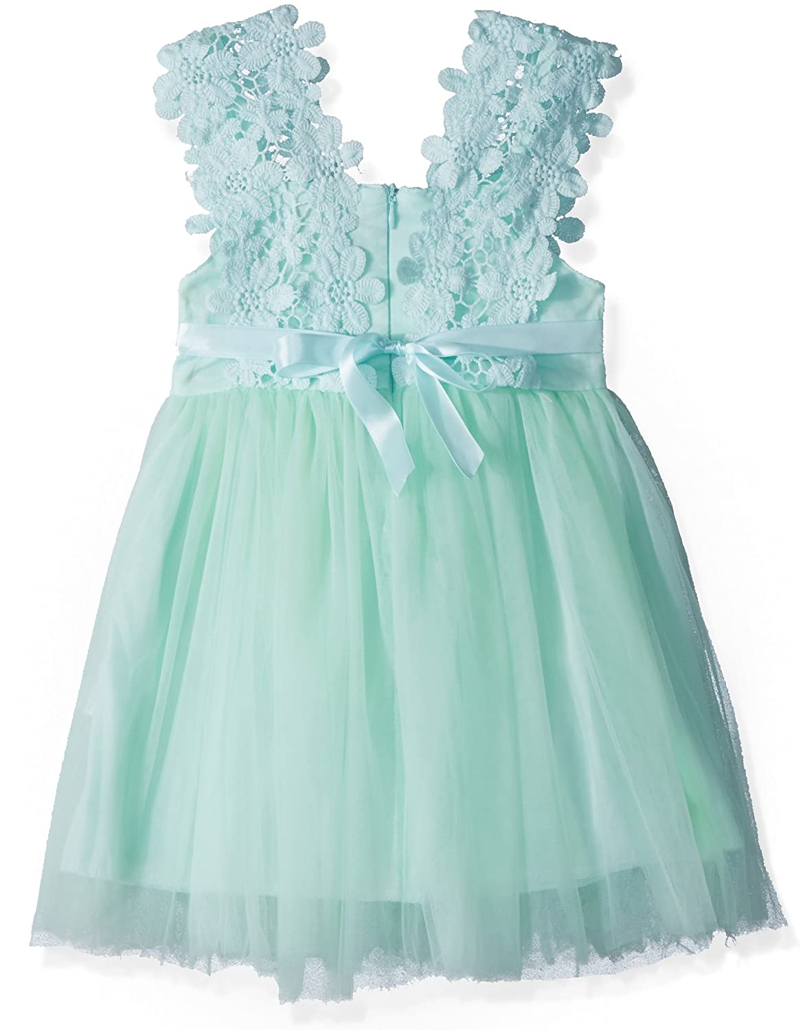 Amazon.com: Elegant Feast Baby Girls Princess Lace Flower Tulle Tutu ...