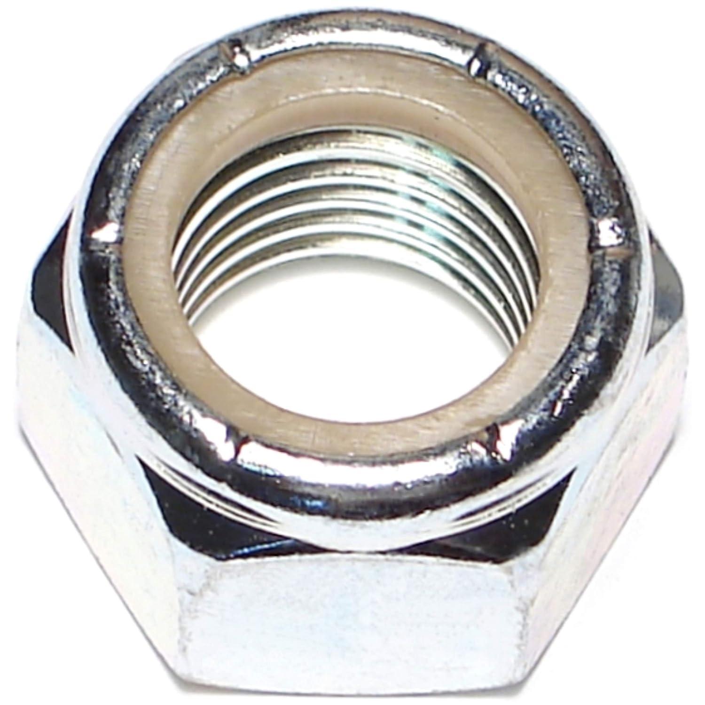 Hard-to-Find Fastener 014973285173 Coarse Nylon Insert Lock Nuts, 1-8, Piece-10