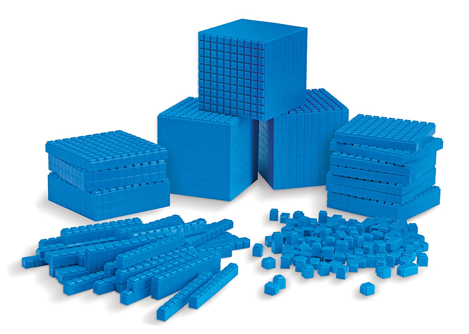 Learning Resources Interlocking Base 10 Class Set