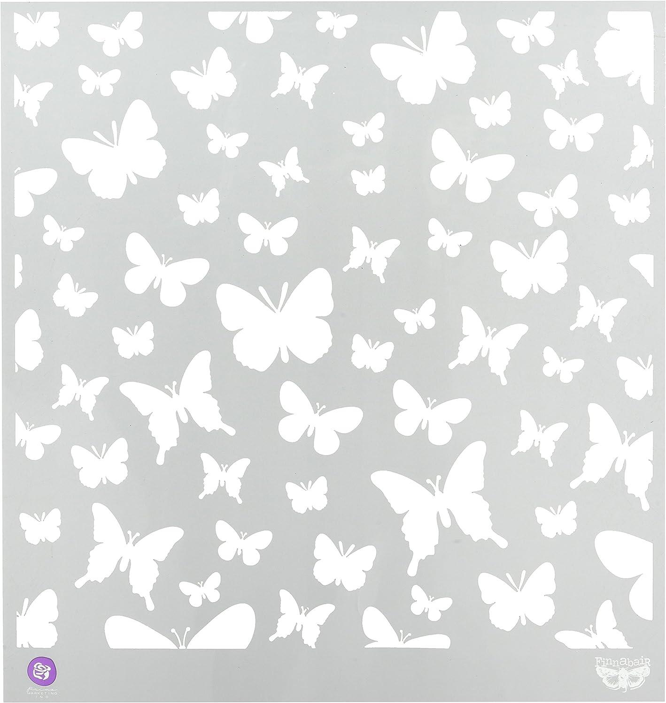 12 by 12-Inch Honeycomb Prima Marketing PSTEN-60506 Elementals Stencil