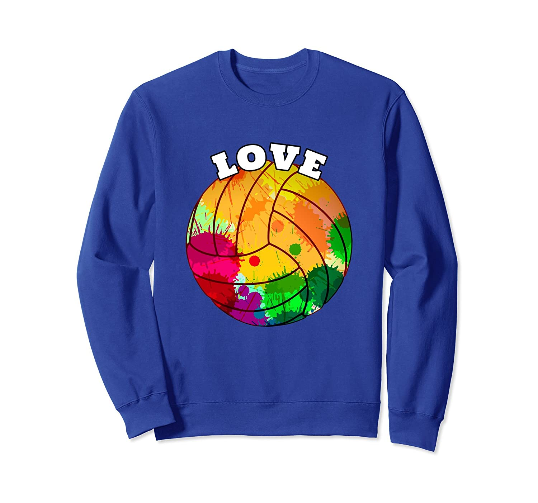 Girls Volleyball Sweatshirt - High School Sports Gift-mt