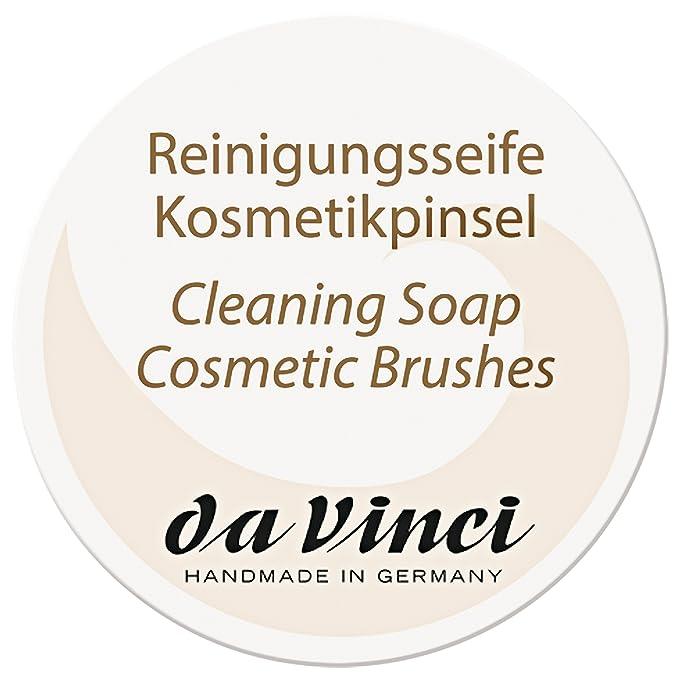 Da Vinci - jabón de limpieza de pinceles de maquillaje, 85 g: Amazon.es: Belleza