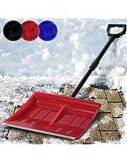Jago snf01Aluminium Folding Snow Shovel Red