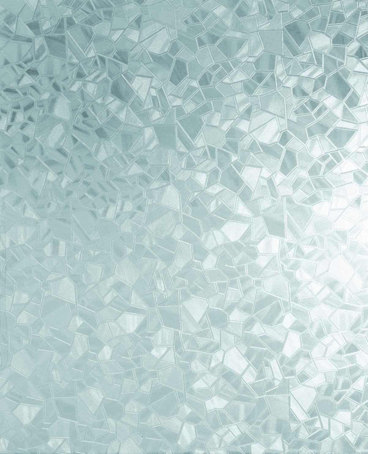 Splinter 2-Pack 17 x 78 Roll d-c-fix 346-0166-2PK Self-Adhesive Privacy Glass Window Film
