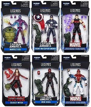 Marvel Legends Build a Figure Abomination Secret War Captain America