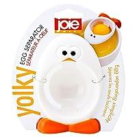 MSC International Joie Yolky Egg Separator, BPA-Free Silicone, Yolk, Multi Coloured