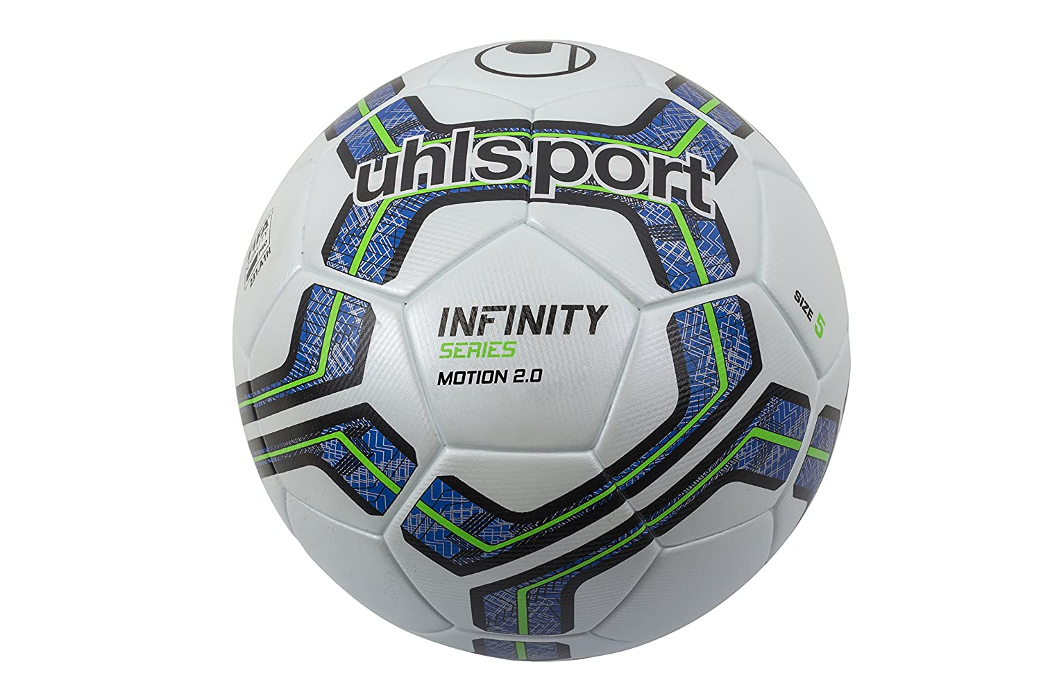 uhlsport Infinity Motion 2.0 Football Match Ball - White Royal Blue Black -  Size 4  Amazon.co.uk  Sports   Outdoors 7a2546b9b97a7