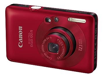 canon digital ixus 100 is digital camera red 2 5 amazon co uk rh amazon co uk canon ixus 100 is manuale d'uso canon digital ixus 100 is instruction manual
