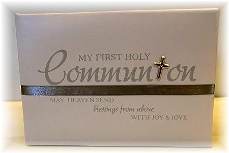 My First Holy Communion Photo Album Amazoncouk Diy Tools