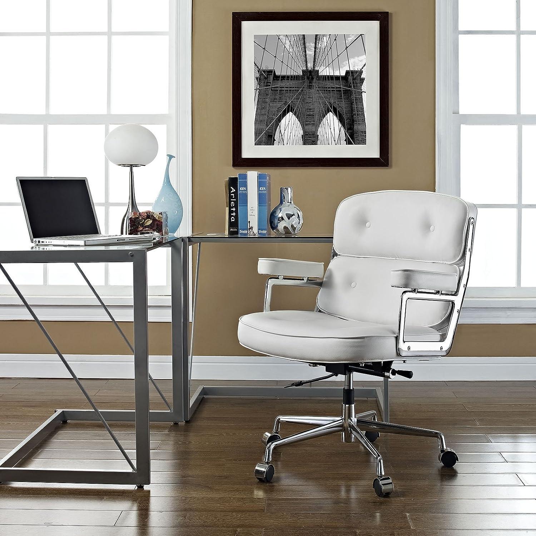 Amazon Modway Remix Deluxe Vinyl Executive fice Chair